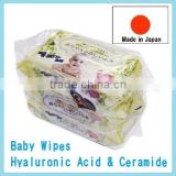 Japan Baby Wipes Hyaluronic Acid & Ceramide baby wipe 100sheets 3p/pack Wholesale