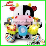 English Version Critters Moosical Beads Cow Baby Education Toy