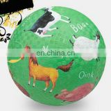 Plastic playground ball for children
