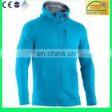 High quality comfortable cheap oversized blank cotton fleece casual hooded zip up two color hoodies