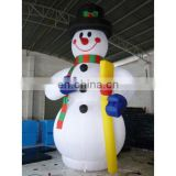 inflatable snowman for outdoors christmas decoration giant 3-8m tall