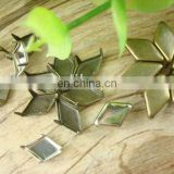 brass metal button studs for leather metal studs
