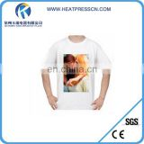 Professional Custom sublimation 100% polyester t shirts