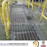 Aluminum Walkway with Handrails for Industry