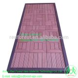Good price WPC sheet for outdoor wpc exterior floor