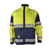 Cotton Fire Resistant High Visibility FR Jacket