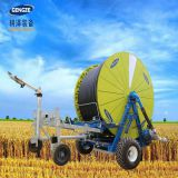 High quality travelling irrigator hose reels irrigation machine with boom for large land