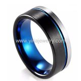 two tone colour tungsten carbide new design 2020 hot seller wedding rings