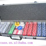 factory direct professional poker chip set with aluminum box for packing .1000 pcs in one set                                                                         Quality Choice