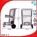 hotel passenger baggage trolley with 4 wheels