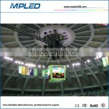 Outdoor advertising equipment of led display with soft mask module for show famos brand advertise