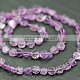 Pink Amethyst Smooth Polish Beads