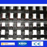 Polyester Geogrid / Soil Reinforcement Geogrid / Standard Warp Knitting Polyester Geogrid
