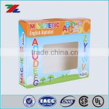 2016 new design Fancy white board children toy packing box, full color packaging box, custom paper box