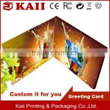 Invitation lcd video greeting card / promotional brochure                                                                         Quality Choice