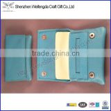 2015 hot new high quality leather tobacco rolling box with button