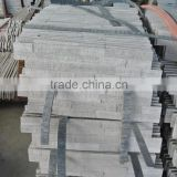 Professional factory 17 years Split Marble Culture Stones rough surface Oak White Marble)