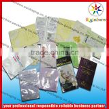 All kinds of beautiful aluminum foil facial mask bag / cosmetic packaging pouch / facial mask bag