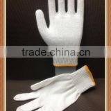 Guarantee High quality 7/10 Gauge Bleached white cotton hand gloves working                                                                         Quality Choice