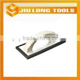 plastic handle foam plastering trowel aluminium plate plaster trowel for cleaning tile and wall