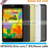 KOMAY Cheapest 7 Inch octa core tablet MTK6592 Ainol AX Flame/Fire NOTE7 AX7 anroid 4.4 Tablet