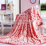 Wholesale Lovely Pink Summer Air Conditioner Super Soft Flannel Blanket,China Manufacturer