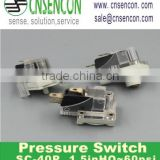 MPL 628 High quality pricision low pressure switch SC-40P/V for OEM application