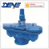 Ductile Iron Double Sphere Air Valve with Flanged Ends PN10 PN16 Hydraulic Oil Gas Water