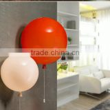 Colorful balloons wall lamp/ children bedroom lights/glass wall lighting/acrylic led light                                                                         Quality Choice