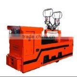 CJY10/6,7,9G overhead line electric locomotive for underground mine,China manufacture locomotive