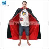 Wycostumes manufature Halloween Black red Cape Costume
