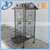 Hot sell dog cage with plastic pallet and metal welded wire dog cage kennel