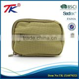 Factory direct price outdoor green easy to carry car key bag with vintage design                                                                                                         Supplier's Choice