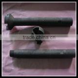 high density & purity graphite rotor for aluminium purification, carbon graphite rotor