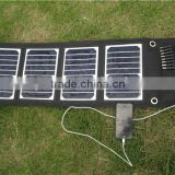 18V 18W Power Bank Foldable Sun power Solar Charger for phone,MP3 and other digital devices