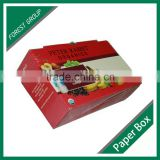 RECYCABLE CUSTOMIZED COLOR PRINTING PACKING BOX CARDBOARD PAPER BOX FOR SHIPPING FRESH FRUIT