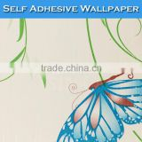 9011 SINO Pretty Butterfly Picture Designs Decorative Wall 3D Wallpaper                                                                         Quality Choice