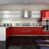 New style high glossy lacquer painted kitchen cupboard-Modular kitchen cabinet