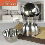 catering equipment good quality multipurpose stainless steel minxing bowl/salad bowl set