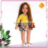 Real 18 inch doll wigs oem doll wigs