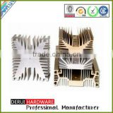 extruded aluminium heatsinks anodizing aluminum heat sinks dongguan China 50w led cob heatsink
