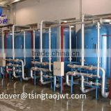 High efficiency sand filter for drip irrigation system