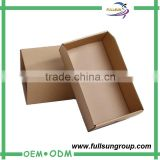 Recyclable cheap corrugated carton box for traditional shoe box                                                                         Quality Choice