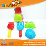 Wholesale ABS Moving Sand Molds 4pcs beach tool, outdoor beach tool, beach toy set tools