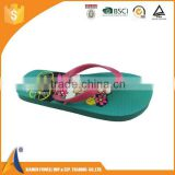 2016 factory price cheap fashion promotional PRINCESS flip flops, eva flip flops for sale, customised rubber flip flops