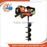 Professional Hand Digging Machine, 52cc Gasoline Powered Ground Drill