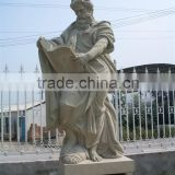bronze sculpture yoga fat lady equipment high quality