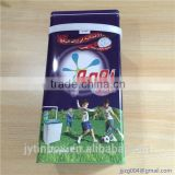 Large washing machine tin powder box
