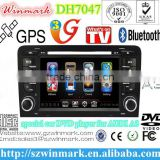 7'' HD TFT special Car DVD GPS with IPOD, Bluetooth, GPS, Radio, ATV, DVB-T, ATSC, STEERING WHEEL CONTROL
