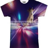 best sublimation tshirt wholesale/all over sublimation printing t-shirt/dye sublimation t shirt custom
